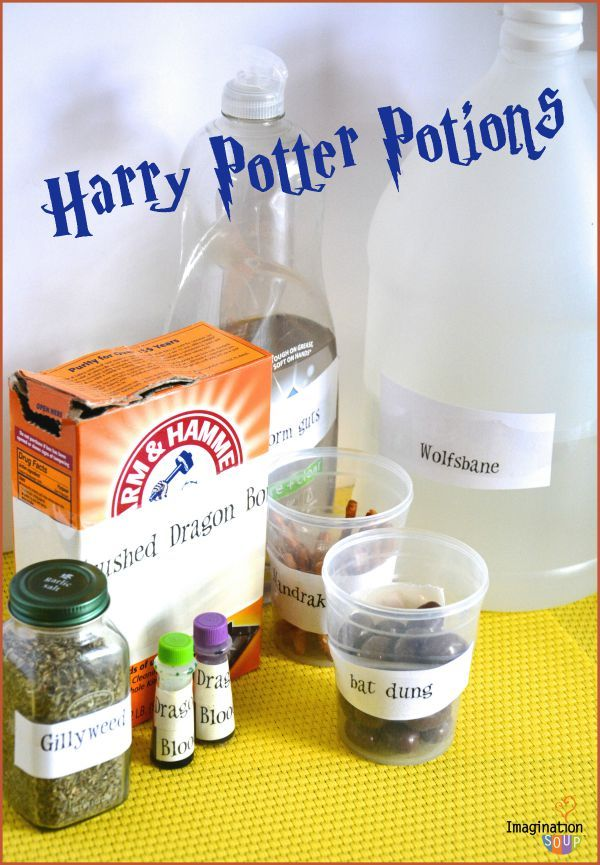 EASY & FUN Harry Potter Potions Class Experiments - sounds like the best indoor ... 1