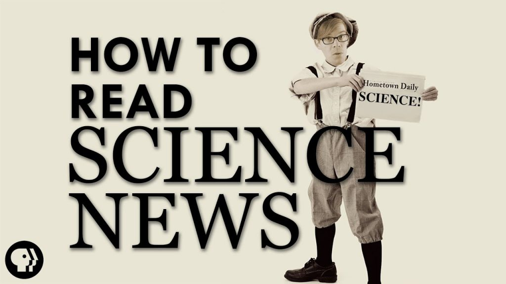 How To Read Science News 1