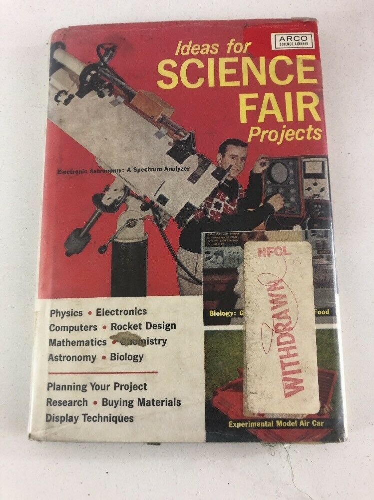 Ideas For Science Fair Projects : Benrey (1964, Arco Publishing) 1