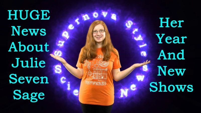 Amazing Year of Achievement for Young Scientist - Supernova Style Science News 2