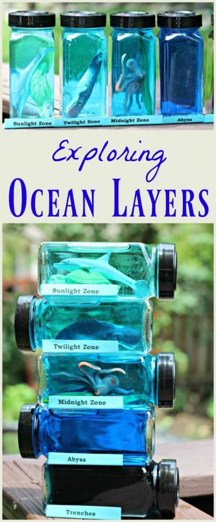 Learn about ocean layers & zones with this creative science activity kids & teen... 1