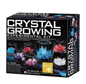 NEW 4M Crystal Growing Experiment Science Kit for Kids Conduct 7 Crystals 5