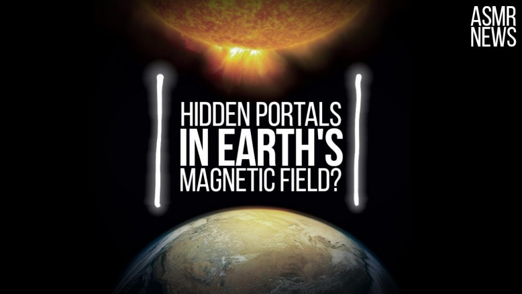 Space Science News ASMR | X-points: Hidden Portals in the Earth's Magnetic Field 1