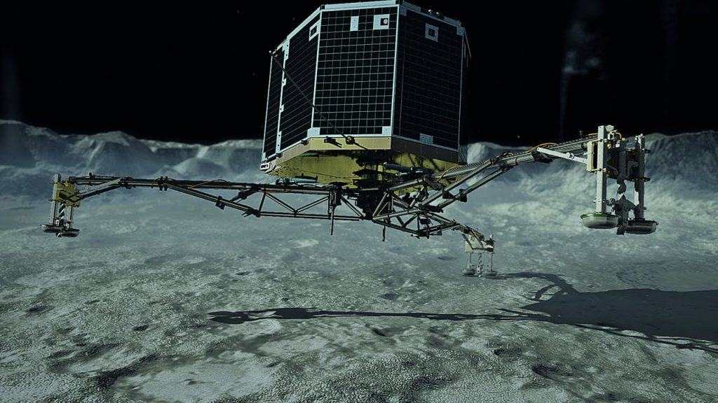 Comet lander readies for its touchdown | Science News 1