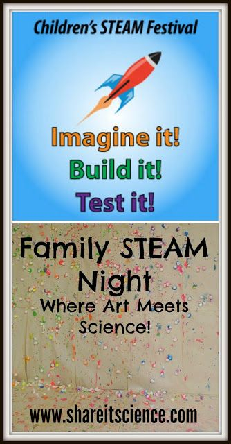 Children's STEAM Festival: Family STEAM Night- Where Art Meets Science. Lots... 1