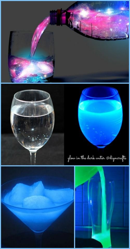 Wow cool project! Ingenious Science Project: How to Make Glow in the Dark Water ... 1