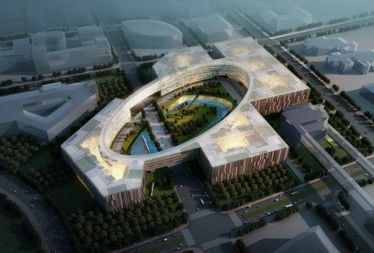 The overall campus planning strategy for the Baidu Science and Technology Campyu... 1