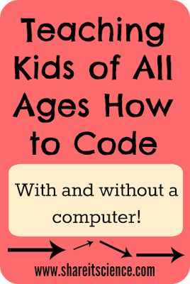 Share it! Science News : Teaching Kids of All Ages How to Code 1