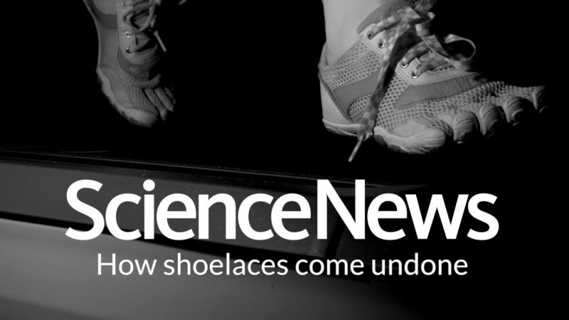 How shoelaces come undone | Science News 2