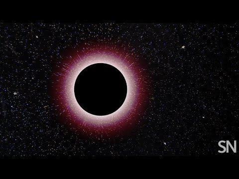 What does a black hole look like?   Science News 1