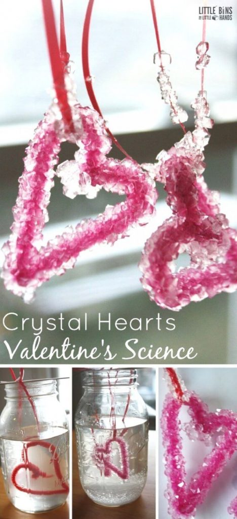 Growing crystals is actually pretty easy to do at home and makes a great science... 1