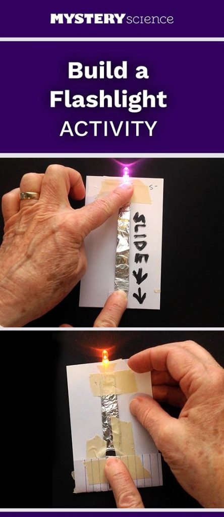 Flashlight Activity - free hands-on science activity for 3rd, 4th or 5th grade e... 1