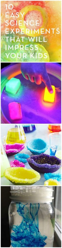 Lemon volcanoes, crystal rainbows, and color clouds -- these fun and easy DIY sc... 1