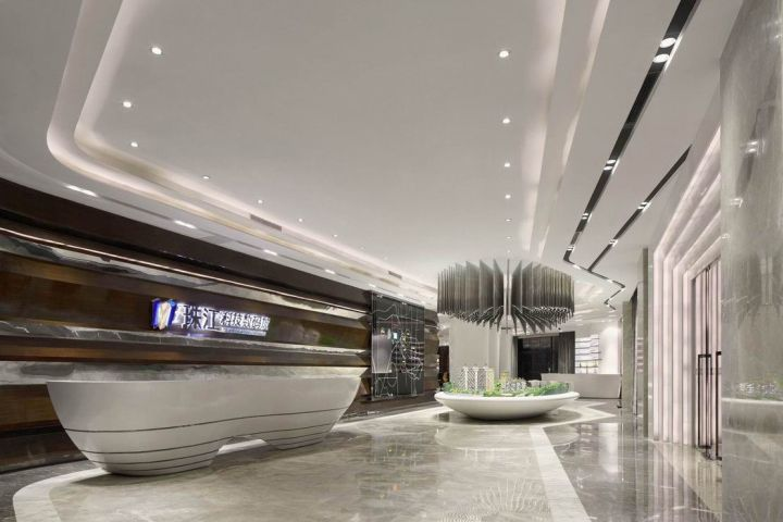 Pearl River Science and Technology Digital City Sales Center by C&C DESIGN CO., ... 1