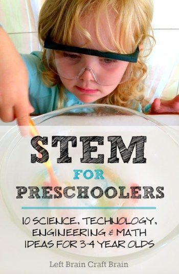 10 STEM (Science, Technology, Engineering and Math) Activities for Preschoolers ... 1