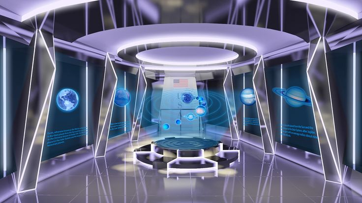 """Check out my @Behance project: """"Exhibition Design - Astronomy Science and Tech... 20"""
