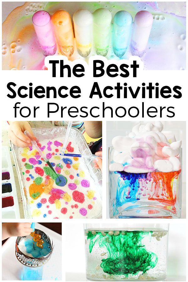 These simple science activities for preschoolers are sure to be a hit! From scie... 1