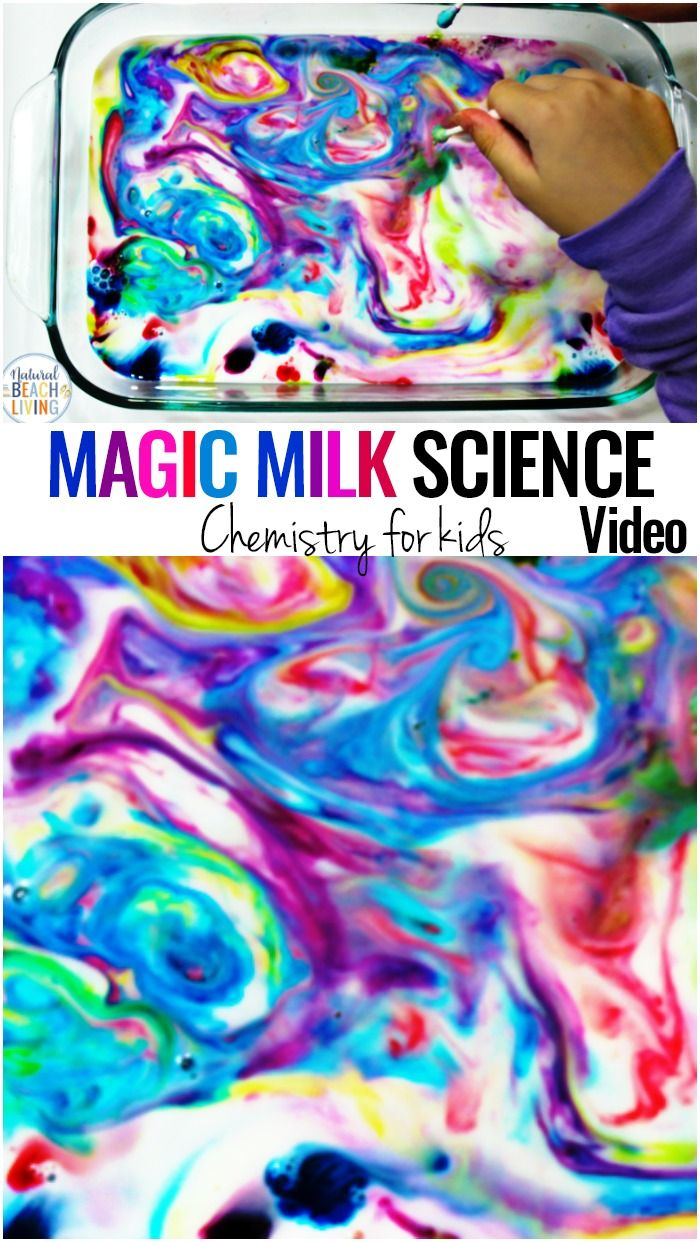 The Magic Milk Science Experiment is a fun and simple experiment for Kids of all... 2