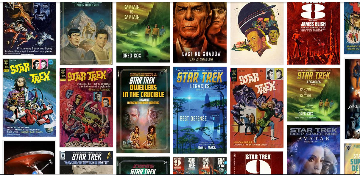Famous Science Fiction Fantasy eBooks Collection StarTrek (epub,mobi) 24