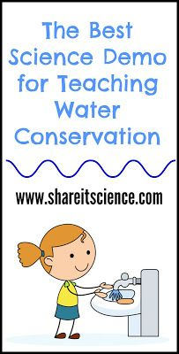 The World's Water Situation: A Science Demo for School or Home. Allow kids t... 1