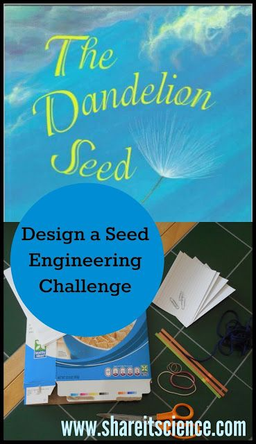 Share it! Science News : The Dandelion Seed: Design A Seed Engineering Challenge... 1