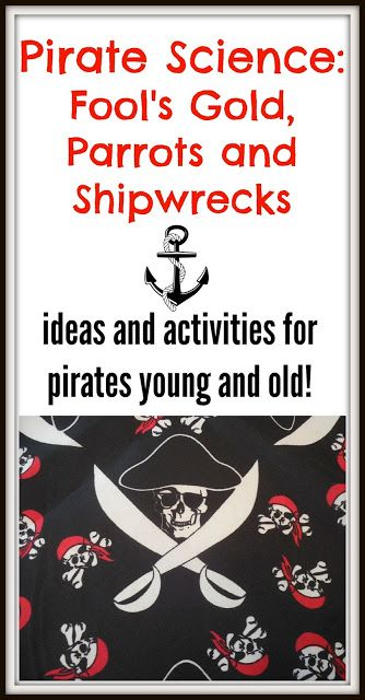 Share it! Science News : Pirate Science! Fool's Gold, Parrots and Shipwreck.... 1
