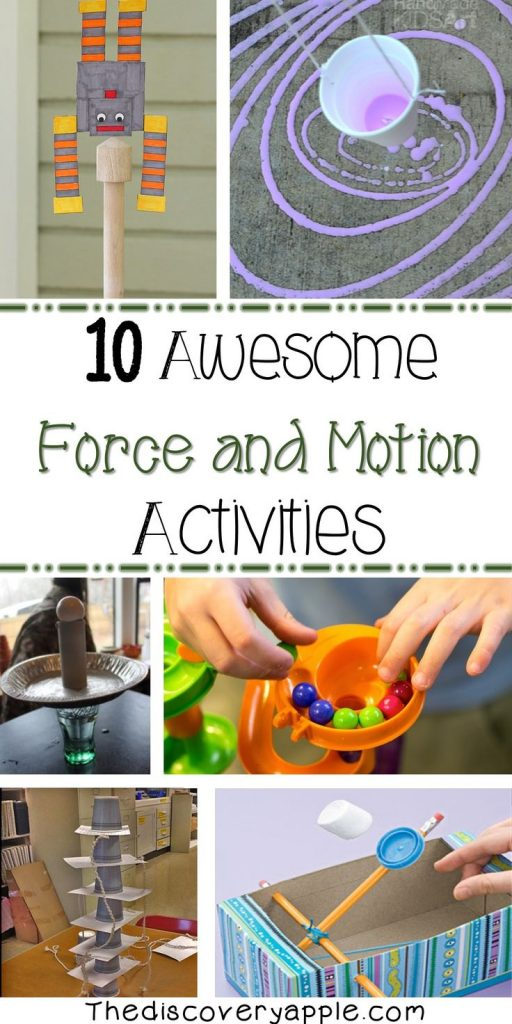 10 awesome force and motion activities. Lots of great activities all in one plac... 1