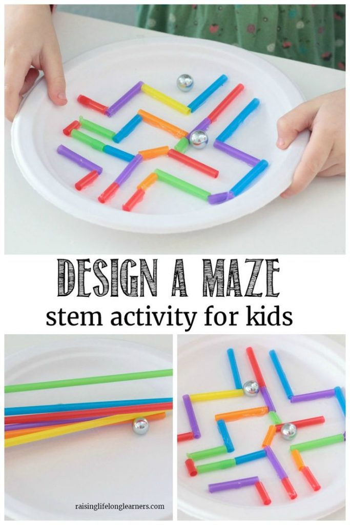 Challenge your kids to build the best marble maze in this open-ended paper plate... 1