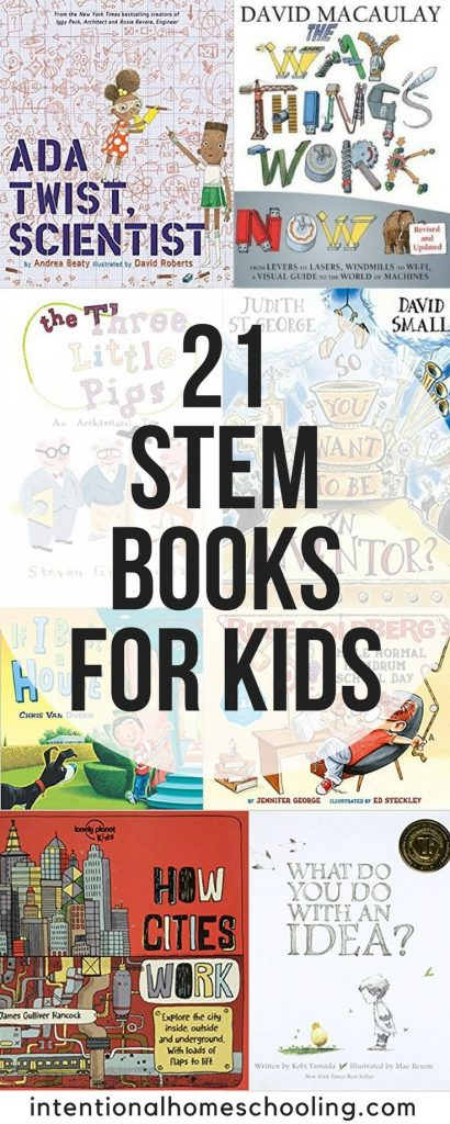 The best STEM books for kids, including picture books and non-fiction STEM books... 1