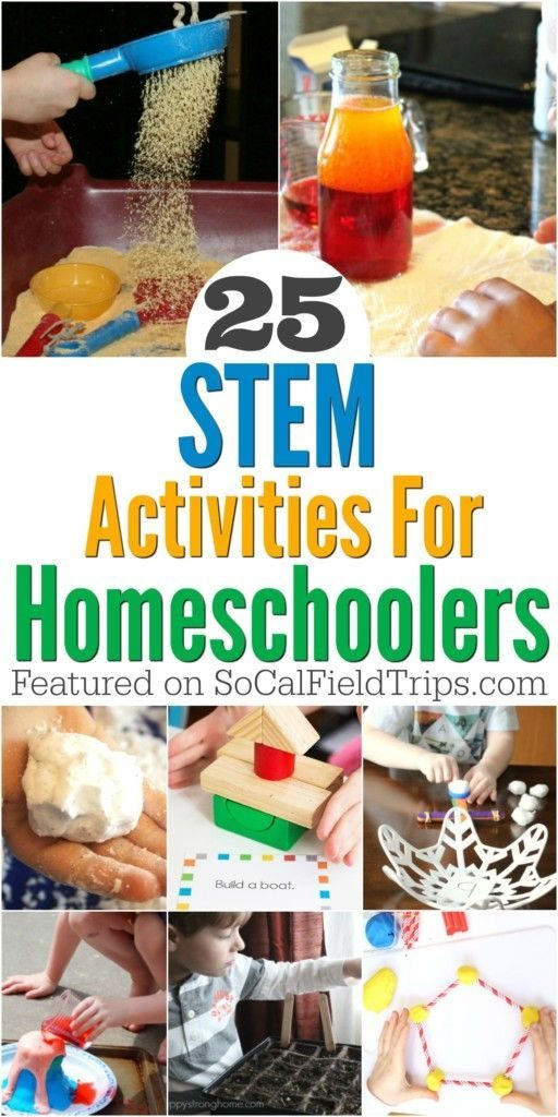 Are you a homeschool parent? Check out these 25 science projects for homeschoole... 1