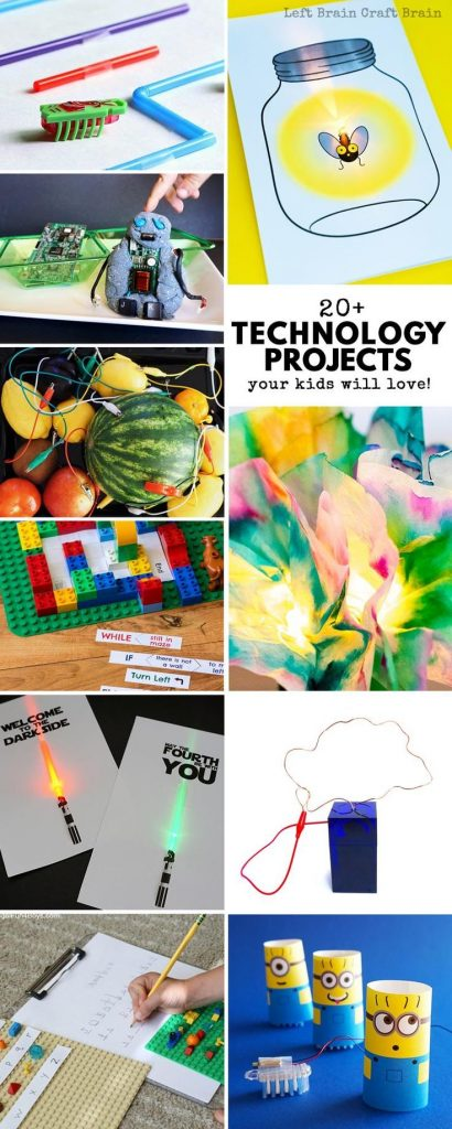Your STEAM kids are going to love these technology projects for kids! These fun ... 1