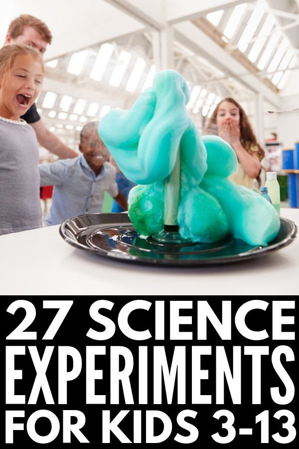 27 Science Experiments for Kids | Whether you're looking for sensory science e... 1