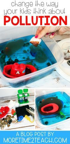 Help your kids understand the disastrous effects of water pollution with this Oi... 1