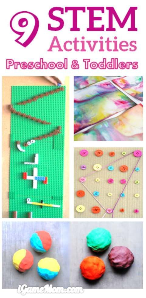 Fun STEM (Science Technology Engineer Math) activities for preschool and toddler... 1