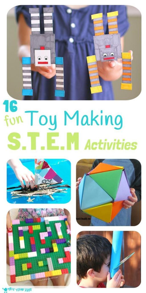 Inspire kids to develop skills in Science, Technology, Engineering and Math with... 1