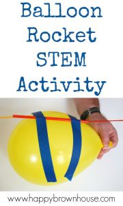 Watch this balloon rocket zoom across the room in this balloon science experimen... 6