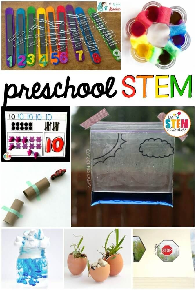 Tons of must-try preschool STEM activities. Preschoolers will love the science, ... 1
