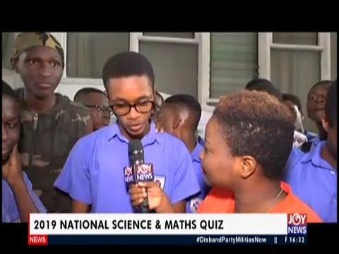 2019 National Science & Maths Quiz   The Pulse on JoyNews 9 7 19 1
