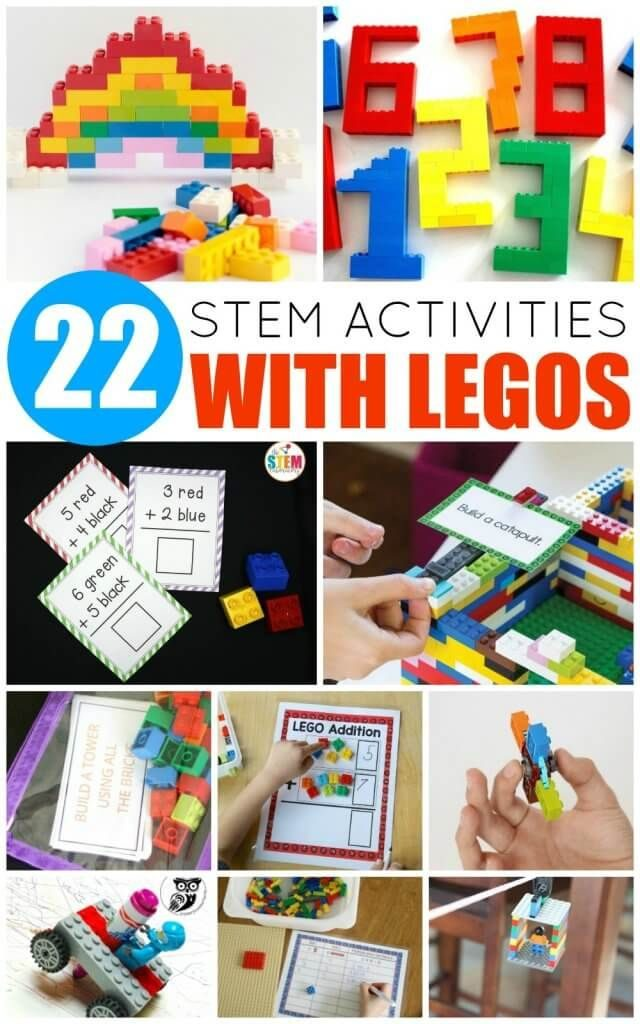 Your LEGO-loving kids will adore these LEGO STEM activities! Learn science, tech... 1