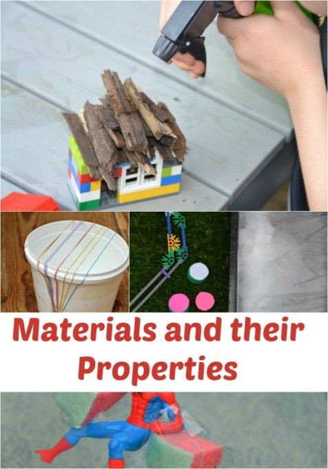 Fun ideas for learning about materials and their properties 1