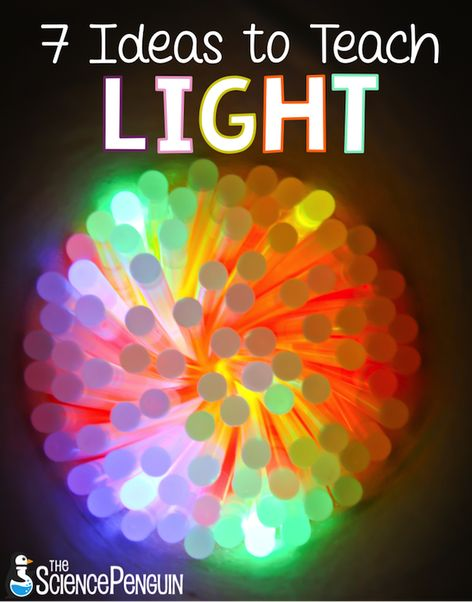 7 ideas to teach students about light, reflection, and refraction 1