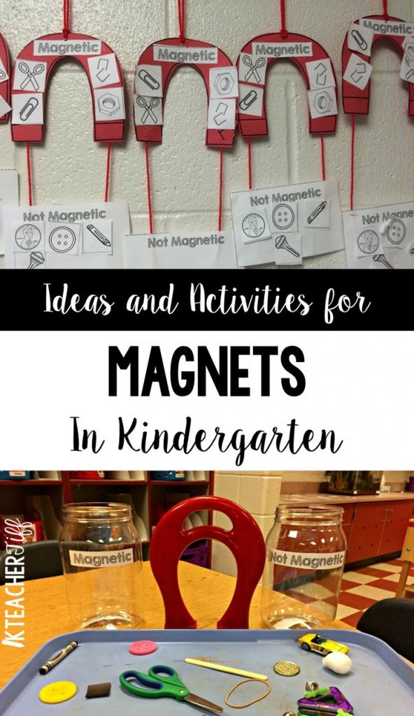 Easy ideas and activities for exploring magnets in kindergarten. The magnet proj... 1