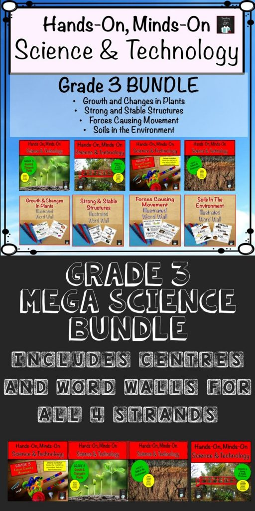 Grade 3 Science and Technology Ontario. Hands-on Minds-On Centres and Illustrate... 1