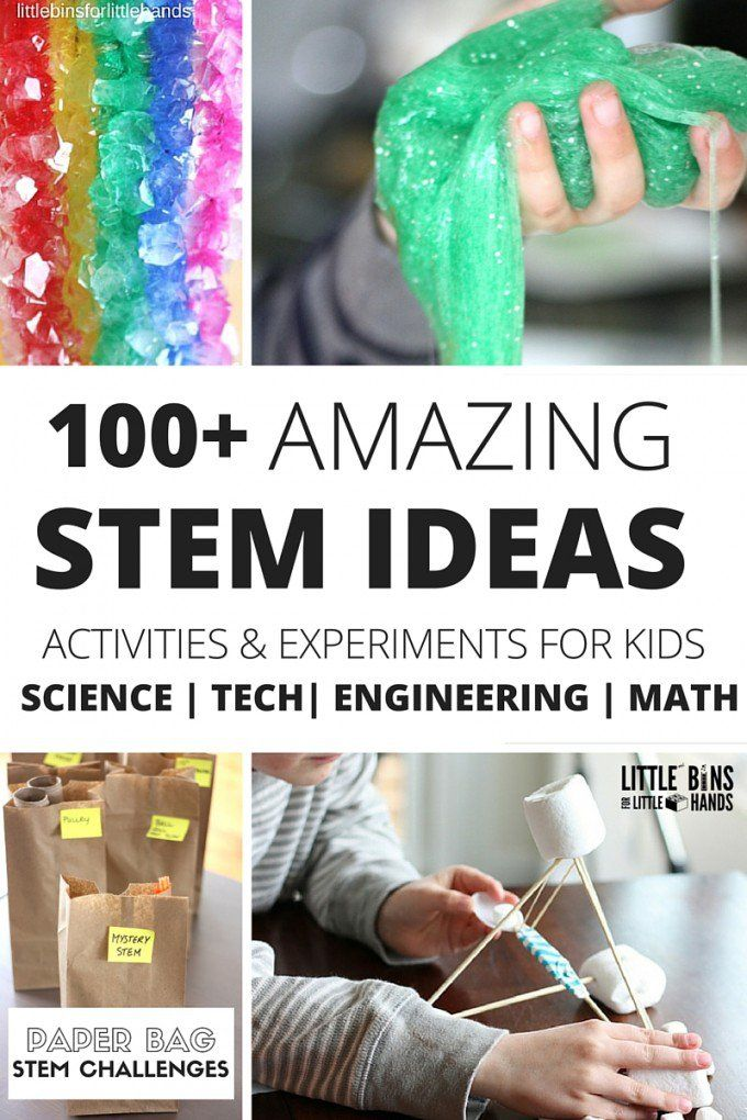 Science experiments and STEM ideas, challenges, and activities for preschool, ki... 3