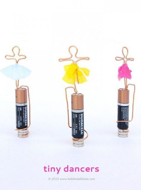 Learn how to make both a basic homopolar motor and a tiny dancing motor! Great s... 1