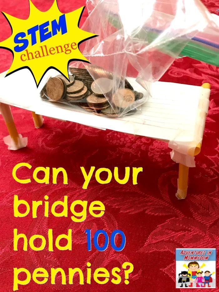 STEM challenge design a bridge 1