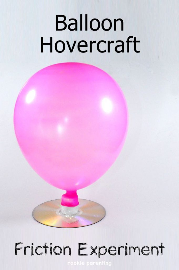 Hovercraft & Friction Science Experiment | Fun STEM 1