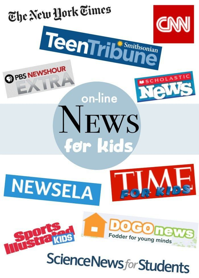 Online News for Kids- lessons and safe sources for kids to learn about global cu... 1