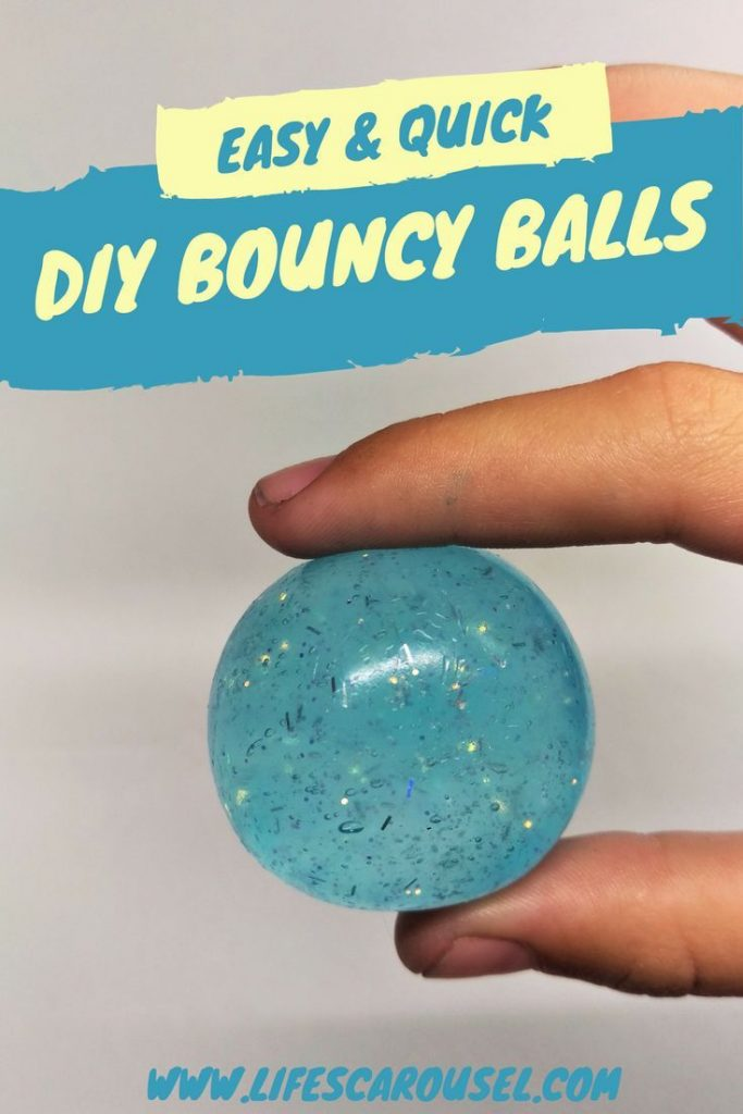 Make Your Own SUPER BOUNCY Glitter Bouncy Balls | This super easy recipe uses ju... 1