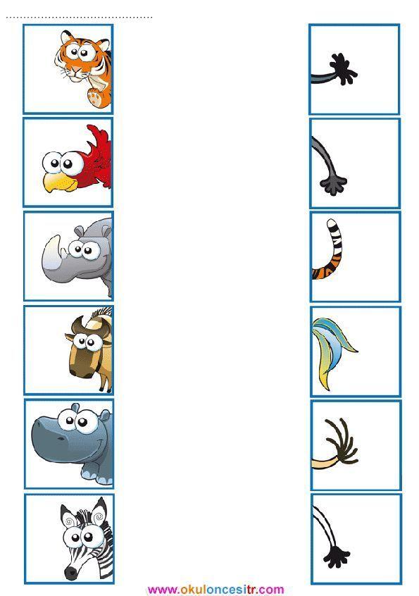 Eşleştirme Çalışma Kağıdı - MyKingList.com 1
